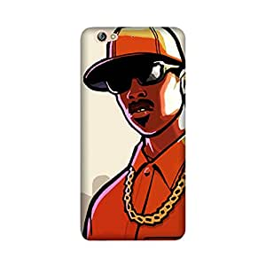 Abaci designed Oppo A57 Mobile Back cover with perfect Matte Finishing GT Vice City Cartoon(Multicolor)