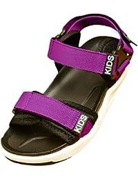 6e5d7c8d54dd53 TAIYCYXGAN Kinder Sommer Schuhe Mädchen Jungen Sandalen Rutschfest  Lauflernschuhe Strandschuhe Gr.26-35