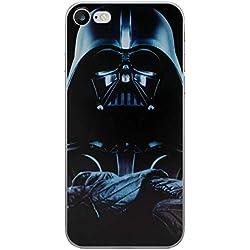 iPhone 5/5s Star Wars Coque Silicone/Couverture de Gel pour Apple iPhone 5s 5 Se/Protecteur D'écran et Chiffon/iCHOOSE/Darth Vader