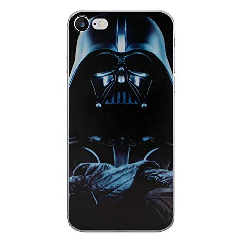 Iphone 6 plus/6s plus star wars cassa del silicone / copertura del gel per apple iphone 6s plus 6 plus / proteggi schermo e panno / ichoose / darth vader