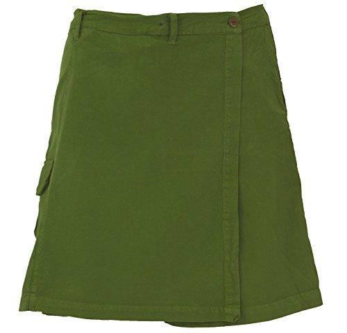 , Hosenrock, Damen, Olive, Baumwolle, Size:S (36), Shorts, 3/4 Hosen, Leggings Alternative Bekleidung ()
