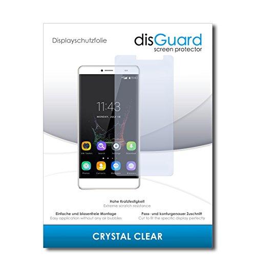 disGuard® Bildschirmschutzfolie [Crystal Clear] kompatibel mit Bluboo Maya Max [4 Stück] Kristallklar, Transparent, Unsichtbar, Extrem Kratzfest, Anti-Fingerabdruck - Panzerglas Folie, Schutzfolie