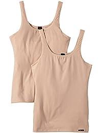 Skiny Damen Unterhemden Advantage Cotton Tank Top 2er Pack