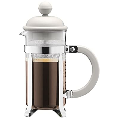 Bodum Caffettiera Coffee Maker - 0.35 L/12 oz, Off white by BODUM