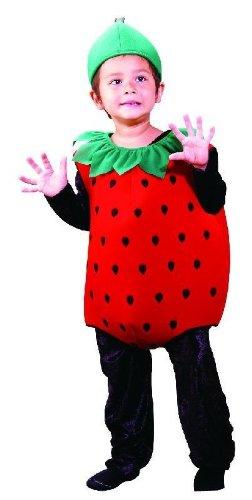 Erdbeer Kostm fr Kinder Frucht Erdbeerkostm Jungen Mdchen, Grße - Kinder Frucht Kostüm