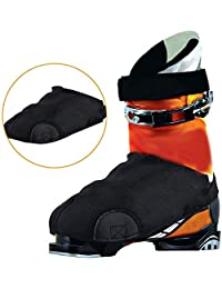 huhu BootGlove Cubiertas para Botas de esquí, Antideslizante, tracción Anti-congelación, Zapatos al Aire Libre, Botas…