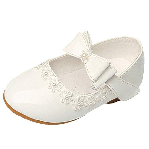 Für Die Sofia Erste Kostüm Kleinkinder (Scothen Baby Kinder Mädchen Prinzessin Ballerinas Elegante Party Schuhe Kinderschuh Festliche Schuhe Mädchen Studenten Lederschuhe Tanzschuhe Schmetterling Schuhe Schleife Absatz Mädchen)