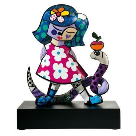 Goebel Girl with Snake - Figur 66451388 - Snake Porcellana