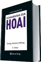 Kommentar zur HOAI: Vertrag, Honorar, Haftung