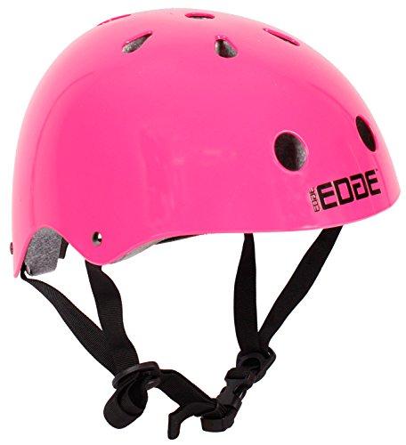 Edge Kinder Skater - Helm in 4 Farben Größe M (55-57cm) (Pink)