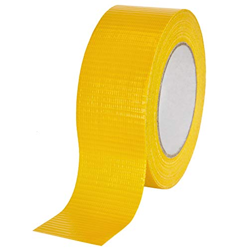 baytronic Gewebeband 48 mm x 50 m, gelb
