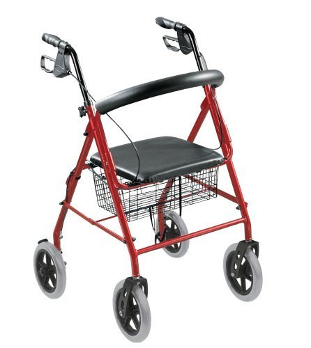 walkabout-8-wheel-folding-deluxe-lite-rollator-with-loop-brakes-padded-seat-and-basket-red-by-walkab