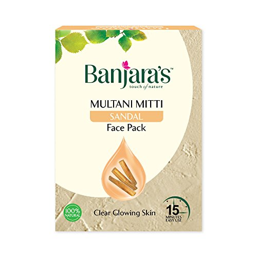 i Mit Sandale Face Pack für klare und Soft Skin 100 g (5 Sachets nach innen) ()