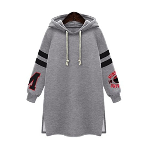 Damen Kapuzenpullover Große Größe Oberteile Tunika Tops Bluse Pullover mit Kapuze Strickjacke MYMYG Sweatshirt Mantel Oberbekleidung...