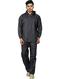 ZAADA Solid Monsoon Citizen Men's Rain Coat Absolute Comfortable and Made with 100% Water Proof Material XL