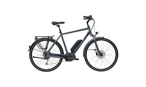 HERCULES Robert/-A 8 E Bike E-Bike Pedelec Elektrofahrrad 28″ Herren 48cm Rahmen 400W Akku Anthrazit Matt Modell 2017