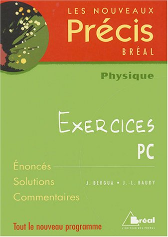 Physique PC : Exercices