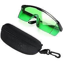 Protección de los ojos Gafas de seguridad para láser verde rojo y UV láser