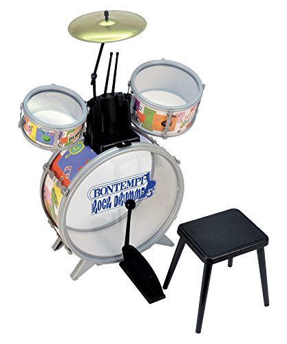 bontempi 514500 instrument de musique batterie rock drummer jouets instruments. Black Bedroom Furniture Sets. Home Design Ideas