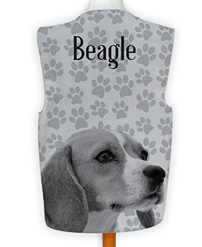 NEUHEIT Weste Kostüm Spass Legere Hirnrissig Party Hund Anzeigen Beagle Klaue - Mehrfarbig, - Kostüm Für Beagles