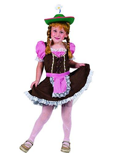 Oktoberfest Dirndl Josefine Kind Mädchenkostüm Trachten Mädchen Größe 140 für Karneval Fasching Party Pierro´s (Mädchen Dirndl Kostüm)