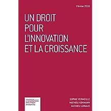Un droit pour l'innovation et la croissance