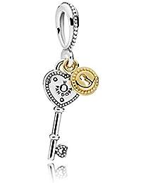 Pandora Women Silver Bead Charm - 796593