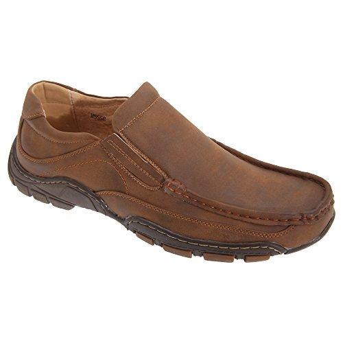 Goor Moccasin Herren Schuhe Tan
