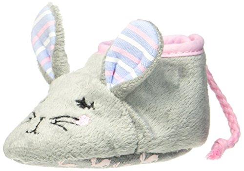 Toms 4 Schuhe Größe Kinder, (Joules Baby Mädchen Lauflernschuhe Hausschuhe X_BABYSQUEAKRG, Grau (Hare), 6-12 Monate (Herstellergröße: M))