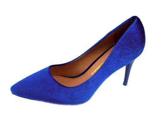 Rebelde , Escarpins pour femme Bleu (azulon)