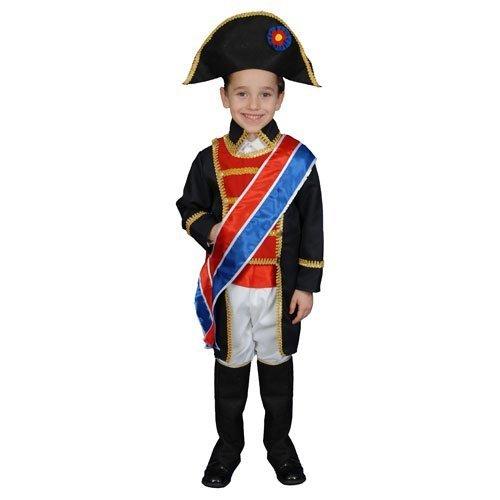 Napoleon Set Kostüm - Napoleon Costume Set - Medium 8-10 by Dress Up America