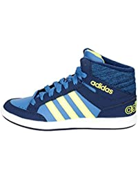 check out ebb58 16432 Adidas Neo HOOPS MID K sneakers navy scarpe bambino BB9946