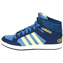 ccb7992419ed1 Adidas Neo HOOPS MID K sneakers navy scarpe bambino BB9946
