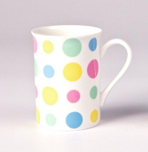 Mug de café et thé pois