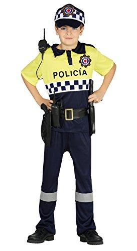 Guirca Disfraz policía local, Talla 5-6 años (87508.0)