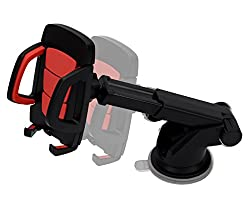 Lifestyle-You Premium Extendable Telescopic Car Mount Mobile Holder for Windshield or dashboard.