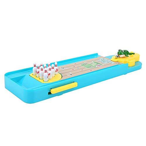 Bowling Tabelle (VGEBY Tabelle Bowling Spielzeug, Katapult Bowling Desktop Spiel Spielzeug für Familie Eltern-Kind Interaktive Unterhaltung Kinder Vorschulerziehung)