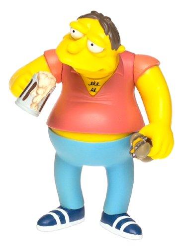 The Simpsons Wave 2 Action Figure Barney Gumble