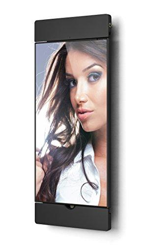 Dock Air schwarz 2. Generation Wandhalterung/Ladestation und Fotorahmen für Apple iPad Air 1+2, iPad Pro 9,7