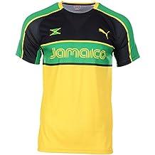 Germaika im Trikot Look world-of-shirt Herren T-Shirt Jamaica