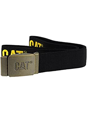 Caterpillar - Cintulo de tela con el logo impreso Modelo C1128107 hombre caballero