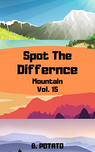 Spot the Difference For Kids Vol.15: Children Activities Book for Kids Age 3-8, Boys and Girls (English Edition)
