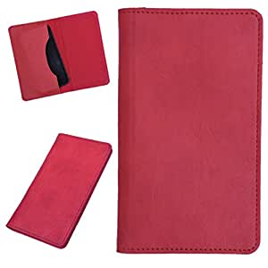 DCR Pu Leather case cover for Lenovo A319 (red)