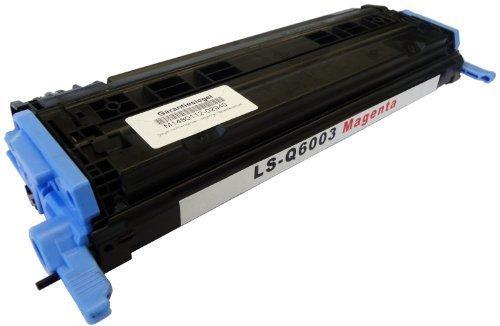 Bubprint Toner kompatibel für HP Q6003A 124A für Color Laserjet 1600 2600 2600N 2605 2605DN 2605DTN CM1000 CM1015 CM1017 CP2600 2500 Seiten Magenta -