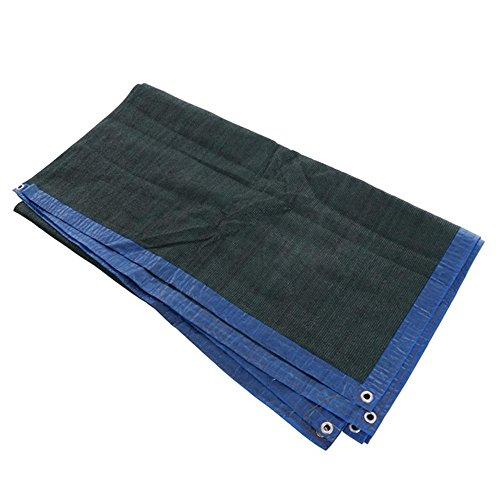 Filet d'ombrage NAN Filet d'ombre de 6-Brin/Vert foncé/Filet de Protection Solaire de Balcon de Cour d'épaississement de Jardinage Voiles d'ombrage (Taille : 4x7m)