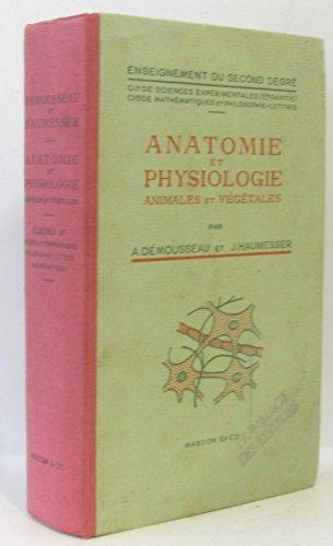 Anatomie et physiologie animales et végétales