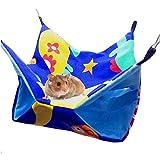 Hamacs Double Couche d'hamac de Toile de hamac de nid de lit de Hamsters de...