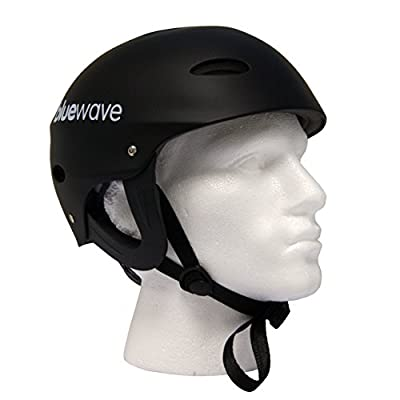 Black Watersport Helmet, Kayak, Canoe, SUP | FREE STANDARD DELIVERY! by Bluewave Leisure