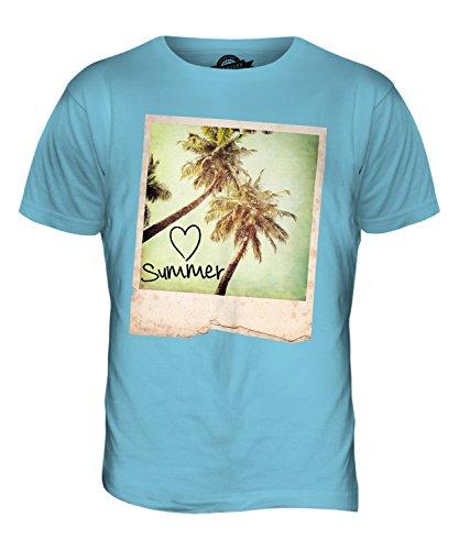 CandyMix Ich Liebe Sommer Herren T Shirt Himmelblau