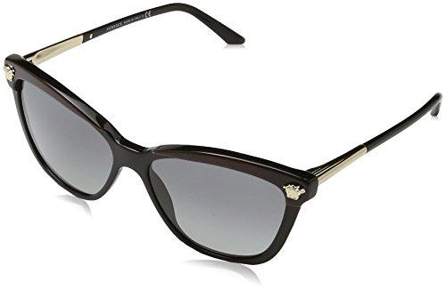 Versace Damen 0VE4313 518011 57 Sonnenbrille, Schwarz (Havana/Black/Gradient),